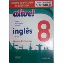 Livro Alive! Língua Estrangeira Moderna - Inglês 8º Ano
