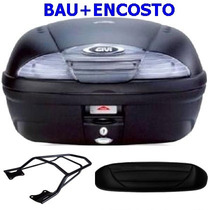 Bau Bauleto Givi 45 Litros E-450n+encosto+ Bagageiro Fazer