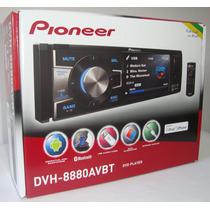 Dvd Player Pioneer Dvh-8880avbt Bluetooth Usb Tela 3,5