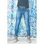 Calça Jeans Masculina Strech Laycra Skinny Slim Strech Elast