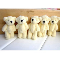 Mini Urso De Pelúcia 10cm