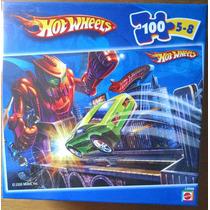 Quebra-cabeças Mattel Hot Wheels - 100 Peças