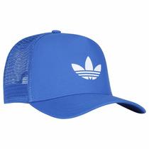 Boné Adidas Trefoil Trucker (azul) - Loja Guids
