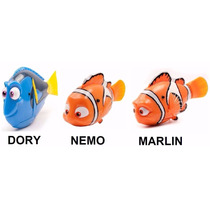 Kit 3 Robo Fish Disney Procurando Dory - Nemo Dory E Marlin