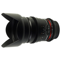 Lente Samyang 35mm Tcine T1.5 Rokinon Canon Nota Fiscal