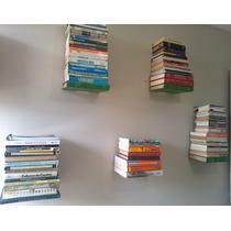 Apoio, Prateleira, Suporte Invisível Para Livros (10 Peças)