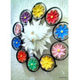 Mandala Decorativa Divino Resplendor 10 Flores
