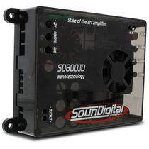 Modulo Amplificador Soundigital Sd600.1d 600w Rms 2 Ohms