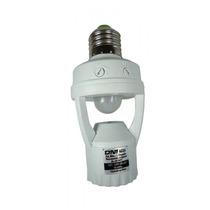 Sensor De Presenca E Iluminacao Com Soquete Lampada Moviment