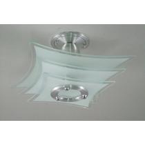 Kit 2 Lustres - Plafon P/ Quarto, Sala, Cozinha Ou Banheiro