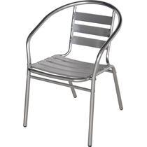 Cadeira Poltrona Em Aluminio Mor Pronta Entrega Nf Garantia