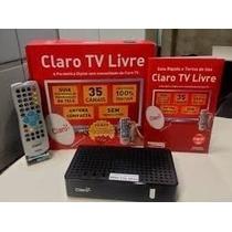Receptor Claro Tv Livre Sem Assinatura Habilitação Grátis
