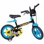 Bicicleta Infantil Criança Menino Batman Aro 12 Bandeirante