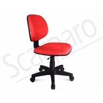 Cadeira Executiva Giratória Sem Braço