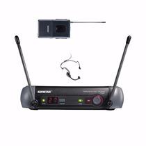 Sistema Sem Fio Shure Facial Pgx14br C/ Microfone Pg31