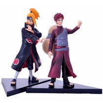 2 Bonecos Naruto Colecionar Enfeite Figura De Ação Brinquedo