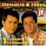 Cd / Leandro E Leonardo (1984) Sertanejo E Forró V.1
