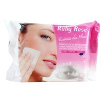 Lenço Demaquilante Removedor Maquiagem Ruby Rose 25 Lenços