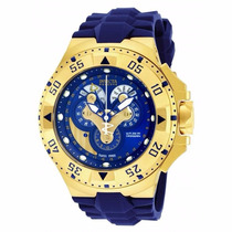 Relógio Invicta Excursion 18558 - Azul Dourado Masculino