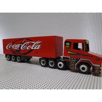 Scania Bitruck Bitrem 7 Eixo Carreta Bau Coca Cola Caminhão