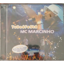 Cd Mc Marcinho - Tudo É Festa