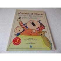 Livro O Tesouro Das Cantigas Para Crianças
