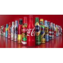 Mini Garrafinhas Coca Cola Copa 2014 - Série Completa