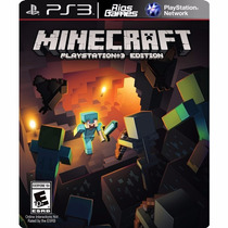 Minecraft - Ps3 - Código Psn - Riosgames