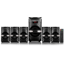Home Theater 5.1 Multilaser 170w Rms Superwoof Usb Sd Fm