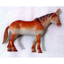 Boneco Cavalo De Borracha Marrom