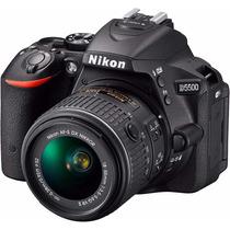 Câmera Nikon D5500 18-55mm Bolsa 32gb Tripé