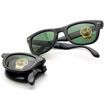 Oculos Rayban 4105/2140 Wayfarer Dobravel Mega Oferta 50%off