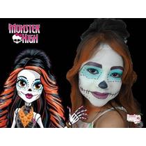 Maquiagem Infantil Monster Hight - Sai Com Água