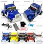 Caminhao Caixa De Som Scania Portatil Cabine Truck Usb Fm