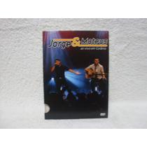 Dvd Original Jorge E Mateus- Ao Vivo Em Goiânia