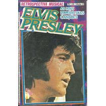 Revista-retrospectiva Musical-elvis Presley-rara