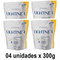 Kit Descolorante Lightner Germen Trigo Refil 300g - 04 Unid.