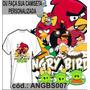 Blusa Camisa Camiseta Personalizada Sublimação Angrybirds 07