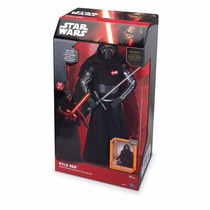 Boneco Star Wars Interativo Kylo Ren Lightsaber Animatronic