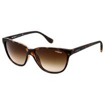 Oculos Vogue Feminino Estilo Gatinho Vo2729s W656/13 Marrom