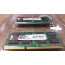 Memória 8gb (2x4gb) Sodimm Kingston 1333 Apple Imac Macbook