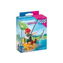 4779 Playmobil Special Pescador Com Equipamentos