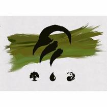 Cartas Magic The Gathering Kit Batalhar Com Selvageria Temur