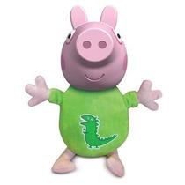 Boneco George Pig 40 Cm - Personagem Desenho Peppa Pig