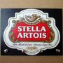 Porta Chave Placa Decorativa Retrô Cerveja Stella Artois
