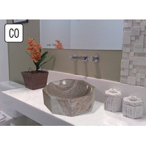 Cubas Em Mármore E Granito (stone Master) - Modelo Co 40 Cm