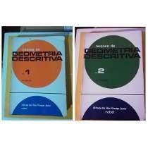 Livro Noções De Geometria Descritiva 2 Vols. Alfredo Dos Rei