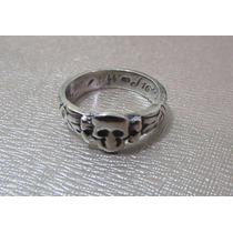 Replica De Anel De Caveira - Militar Alemão - Totenkopf Ring