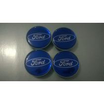 Calota Centro De Roda Ford Fiesta Ecosport Ka Focus 49mm