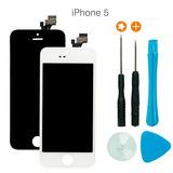 Tela Touch Display Lcd Iphone 5 5c 5s + Feramenta + Pelicula